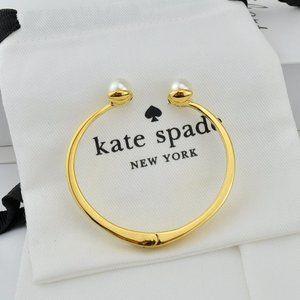 Kate Spade Pearl Inlaid Simple Bracelet